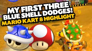 Video MY FIRST 3 BLUE SHELL DODGES! | Mario Kart 8 Twitch Highlight (Excessive Language) download MP3, 3GP, MP4, WEBM, AVI, FLV April 2018