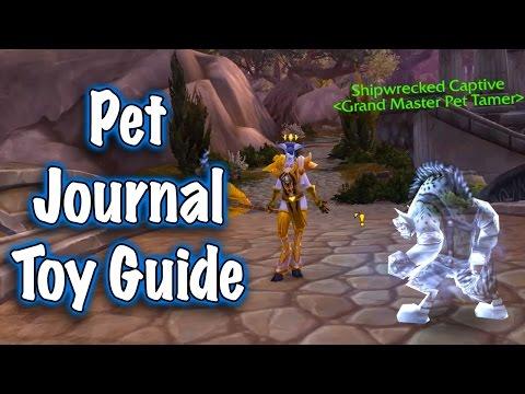 Legion Beta - Sternfathom's Pet Journal Toy Guide (Jessiehealz)
