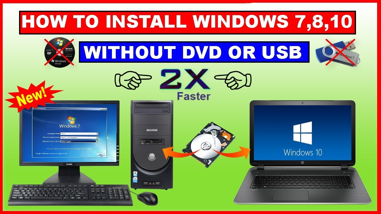 how to put a dvd on your computer