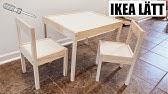 Unboxing Ikea Mala Chevalet Tableau Chevalet Pour Enfants Demonstration Youtube