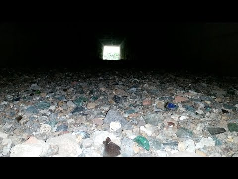 City Creek Treasure Hunt: Tunnel Full of Glass Part 1