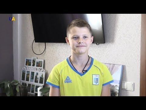 13-летний чемпион Европы Алексей Середа дал первое в своей жизни интервью