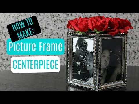 Picture Frame Centerpieces