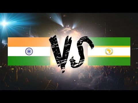 India vs Africa awesome Music Battle | Tabla Battle