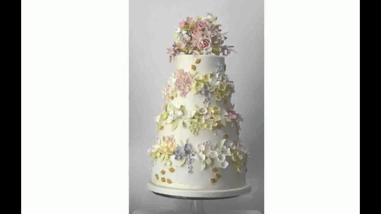 Wedding Cakes Uk - YouTube