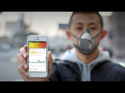 A High-Tech Pollution Mask for China