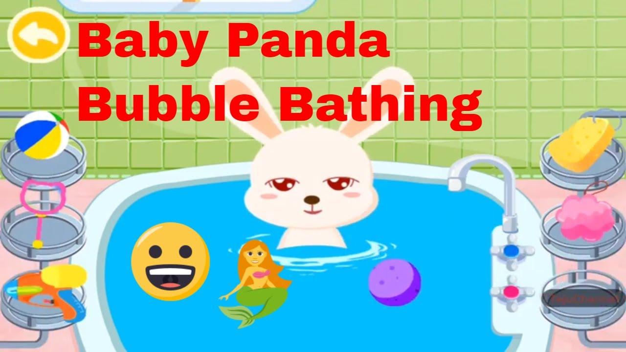 #nurseryrhyms #babysongs #kidssongs Babybus baby Panda Bathing