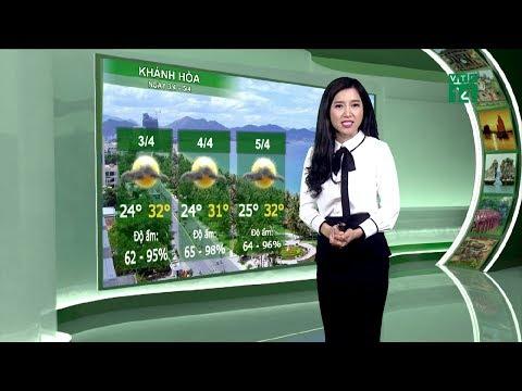 Thời tiết du lịch 02/04/2019: Nha Trang  tiết trời tạnh ráo, nắng trong ngày không mạnh | VTC14