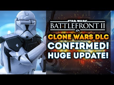Star Wars Battlefront 2 - CLONE WARS DLC CONFIRMED!  Conquest Mode VERY Likely! BIG PATCH UPDATES!