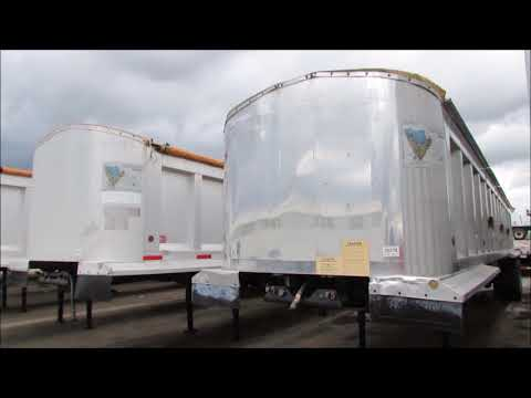Used Aluminum END DUMP Trailer For Sale in Texas|Porter Truck Sales in Houston Tx