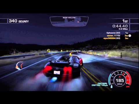 NFS HOT PURSUIT: MCLAREN F1 FASTER THAN  BUGATTI VEYRON ?? MAD HACKER