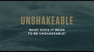 What does it mean to be Unshakeable? | Tony Robbins UNSHAKEABLE [Video 1 of 14]