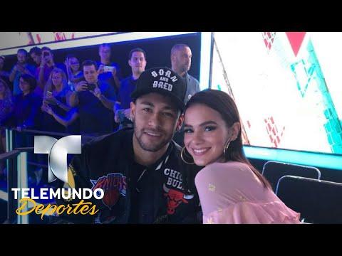 ¡Por primera vez! Neymar y su novia en entrevista   Telemundo Deportes   Telemundo Deportes