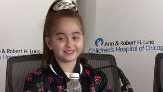 Watch Live: Drake's biggest fan, Sofia Sanchez, speaks to reporters after heart transplant