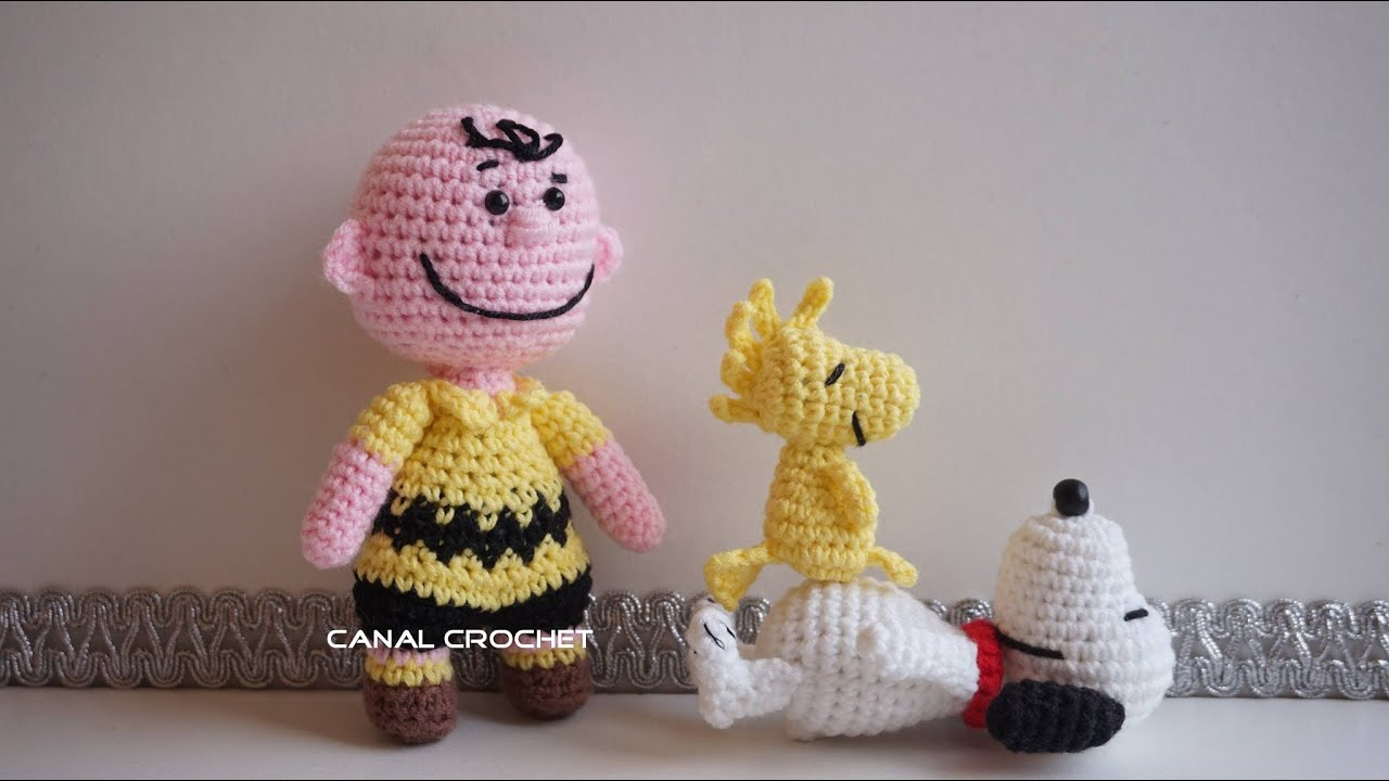 Amigurumi Patterns Snoopy : Charlie amigurumi tutorial youtube