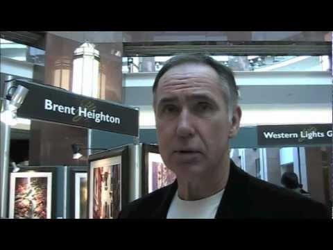 Artist Brent Heighton Edmonton Art Show