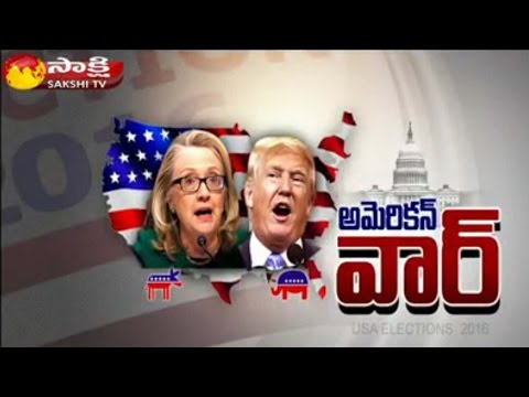 American War: United States Presidential Elections 2016 || Sakshi Magazine Story