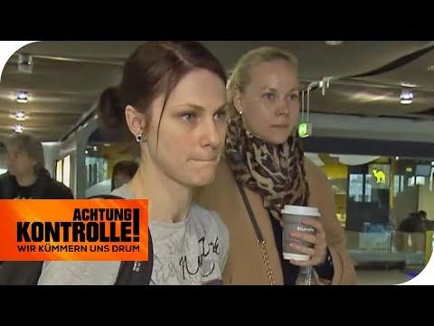 Flug gestrichen: Sitzen die Passagiere jetzt am Flughafen fest?   Achtung Kontrolle   kabel eins