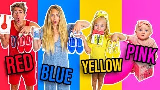 Download I'LL BUY ANYTHING IN YOUR COLOR CHALLENGE FOR 24 HOURS Mp3 and Videos