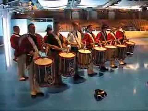 Drumming with The Old Guard- October 2006
