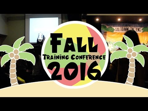 Fall Training Conference 2016: Closing Slideshow