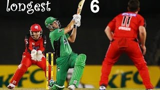 10 Biggest Six In Cricket History !!! Big Bash League !!! Out Of The Ground !!!