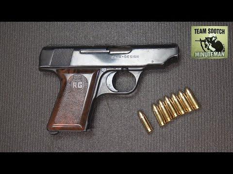 Rohm RG 42 25 Auto Pistol Review