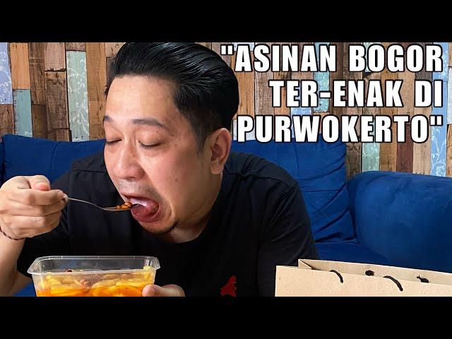 ASINAN BOGOR VIRAL DI #PURWOKERTO DAPUR HOKKI. RASANYA AHHH MANTAP