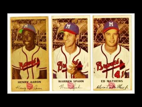 Milwaukee Braves Slideshow - Henry Aaron - Warren Spahn - Eddie Mathews