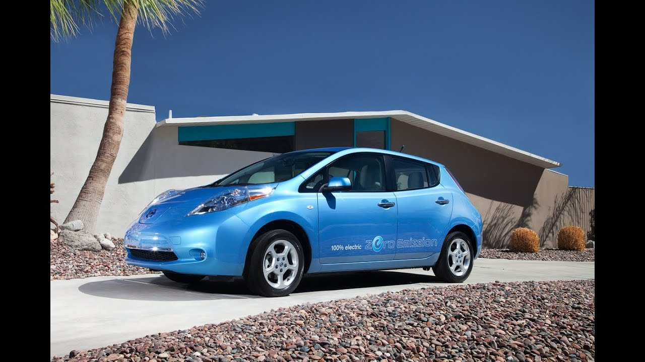 2012 Nissan Leaf Drive Time Review With Steve Hammes