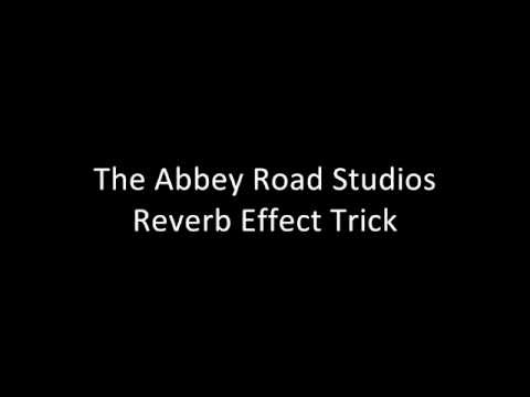 The Abbey Road Studios Echo Trick