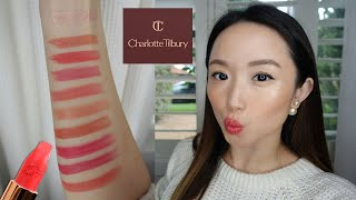 I bought 10 Charlotte Tilbury Lipsticks!!