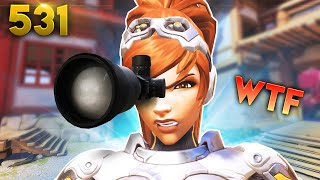 Aim Vision: ACTIVATED!!   Overwatch Daily Moments Ep.531 (Funny and Random Moments)