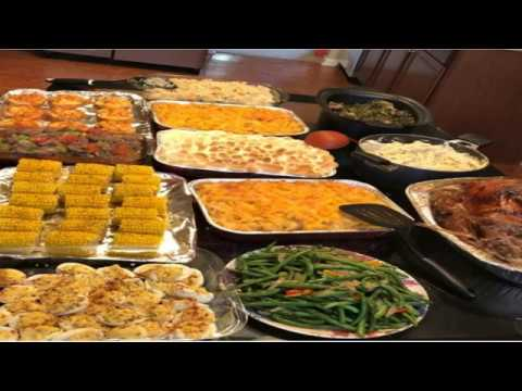 Lovely Mimi Thanksgiving dinner is everything! Asian female rapper cooks better than a black woman!