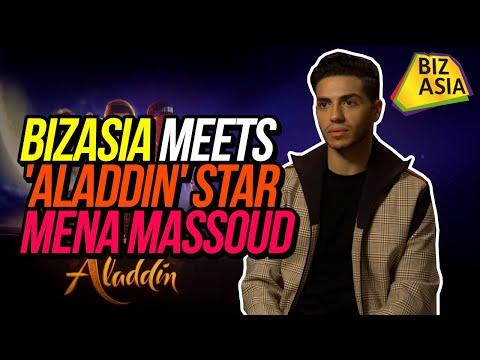 BizAsia meets 'Aladdin' star Mena Massoud