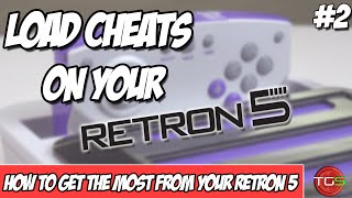 How To Load Cheats onto your Hyperkin Retron 5