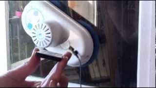 Test du robot laveur de vitres e.ziclean Hobot