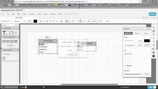 Creating an ERD with LucidChart