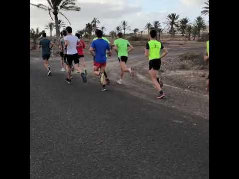Saturday morning run session: January 20, 2018