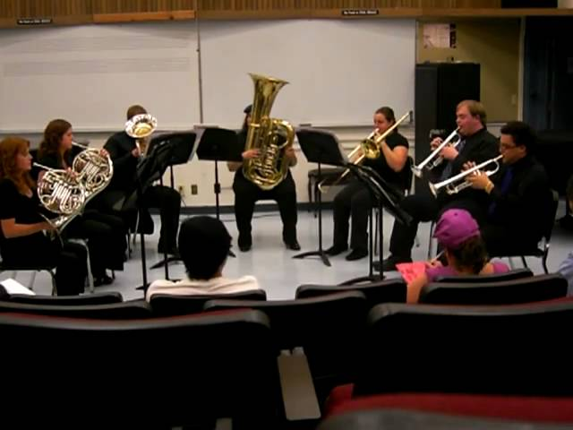 DVC Diablo Valley College Brass Ensemble 02 May 11, 2010 Travel Video