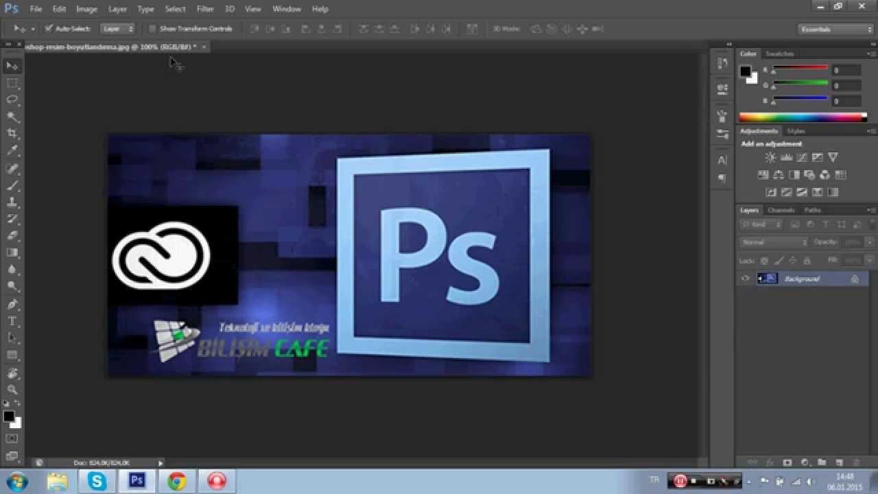 Orantıları koruyarak Photoshop daki resmin boyutunu nasıl değiştirebilirim