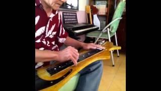 """Guitar Hawaii. Độc tấu  nhạc phẩm """"Niệm khúc cuối"""""""