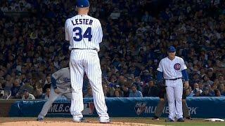 Плей-офф MLB. Финал NL: Чикаго Кабз - Лос-Анджелес Доджерс. Матч 1 (15.10.2016)