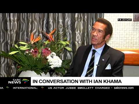 IN CONVERSATION with Former Botswana president, Ian Khama