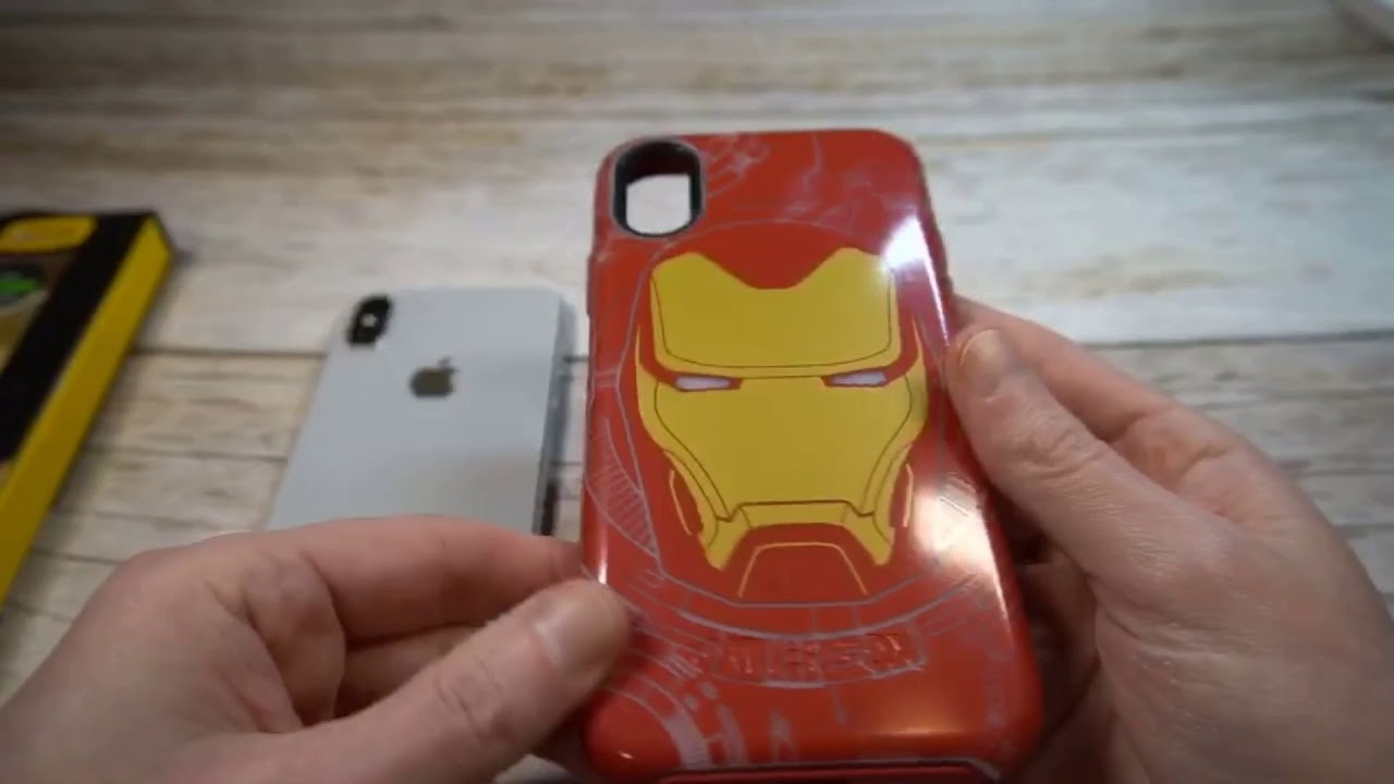 low priced 6ba0e 125d5 Otterbox Symmetry I Am Iron Man Marvel Avengers Case for iPhone X Review