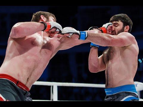 Муслим Магомедов VS Магомед Шахрудинов 93 кг. Чемпионат России по ММА 2018 (Финал)