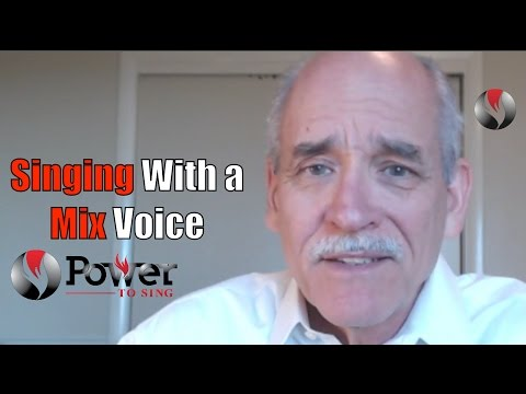 Power To Sing Live #9 - Singing With a Mix Voice