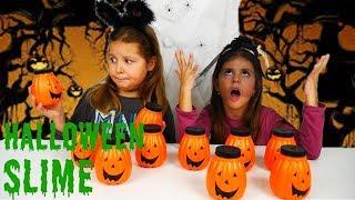 ΜΗΝ ΔΙΑΛΕΞΕΙΣ ΤΗ ΛΑΘΟΣ ΚΟΛΟΚΥΘΑ HALLOWEEN CHALLENGE / don't choose the wrong pumpkin slime challenge