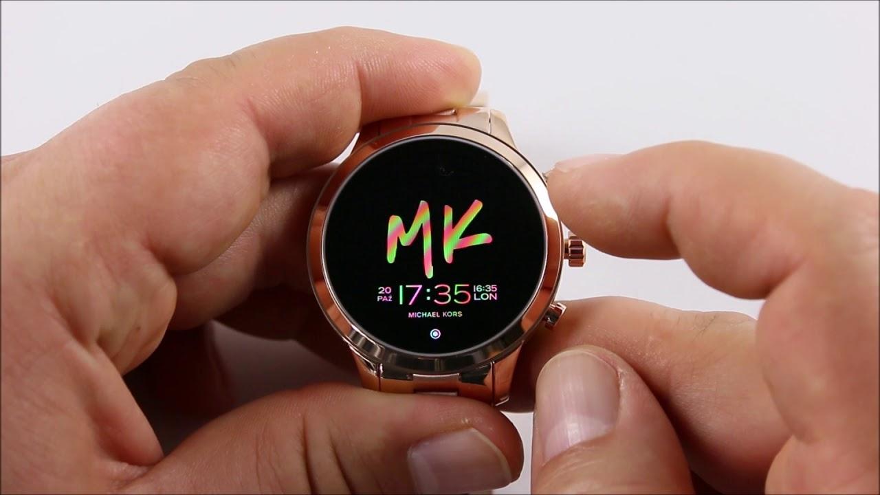 Otozegarki.pl Smartwatch Michael Kors MKT5046 Runway Zegarek MK Access