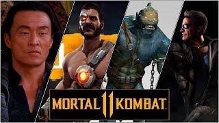 Mortal Kombat 11. Когда покажут Кано? Шан Цун вероятнее, чем Джонни Кейдж? Молох и кто такой TER?